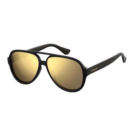 Óculos Havaianas Leblon Preto/Dourado