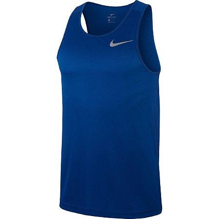 Regata Nike Breathe Run Ta Azul