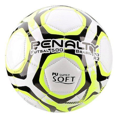 Bola Futsal Penalty Brasil 70 R3 Ix Bc/Am/Pt