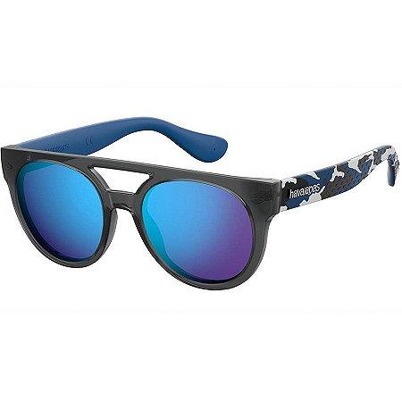 Óculos Havaianas Buzios Preto / Azul Camuflado