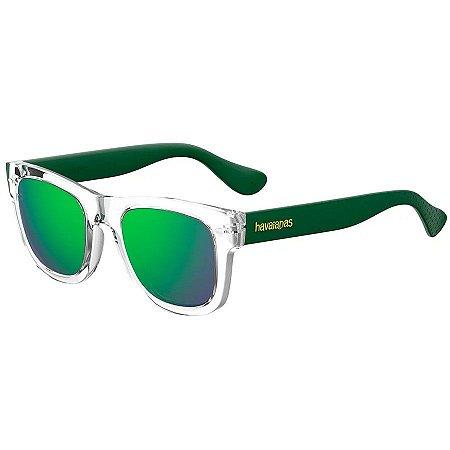 Óculos Havaianas Paraty M Transparente/Verde