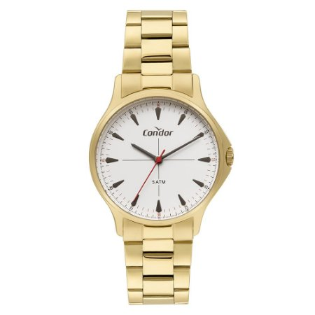 Relógio Condor Masculino Dourado CO2035MSI4B