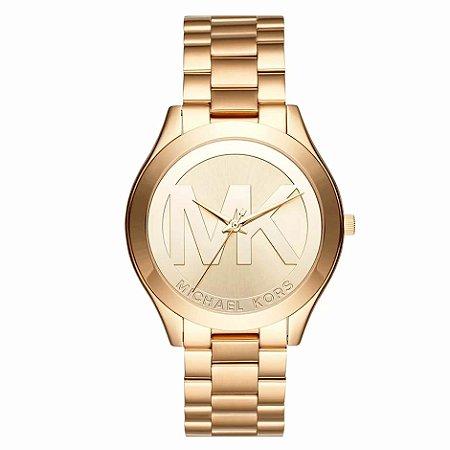 Relógio Michael Kors Feminino Dourado MK37394DN