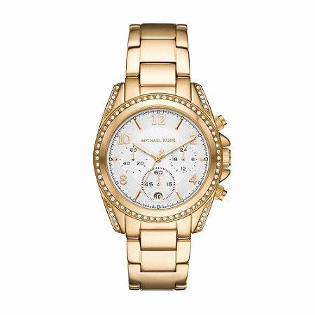 Relógio Michael Kors Feminino Ritz Dourado MK67621JN