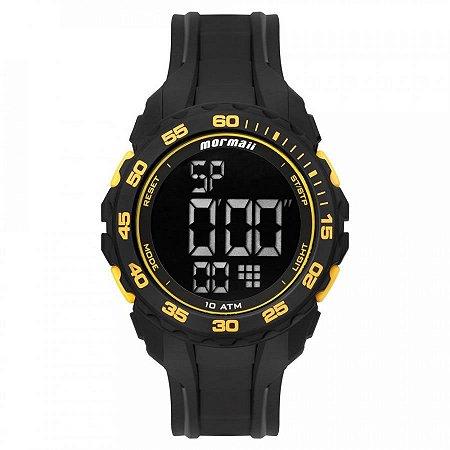 Relógio Mormaii Masculino Wave Preto MO18769AB8Y
