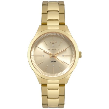 Relógio Technos Feminino Dourado 2039BX4X