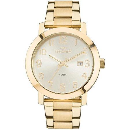 Relógio Technos Feminino Dourado 2115MND4X
