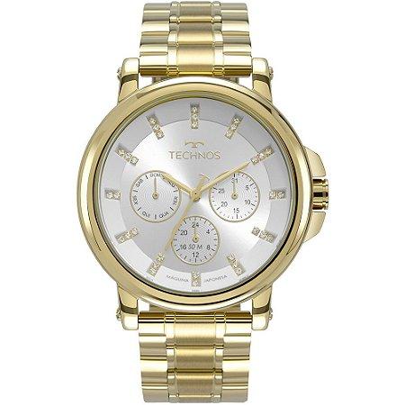 Relógio Technos Feminino Ladies Dourado 6P29AKV4K