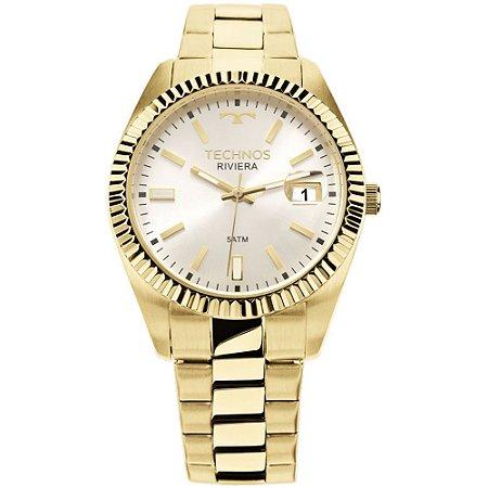 Relógio Technos Feminino Rivera Dourado 2115KTR4K