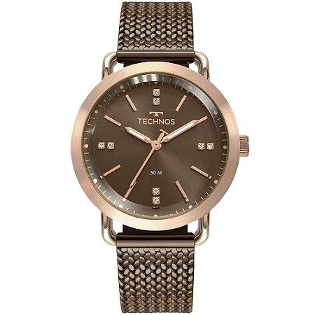 Relógio Technos Feminino Rose 2036MMD4M