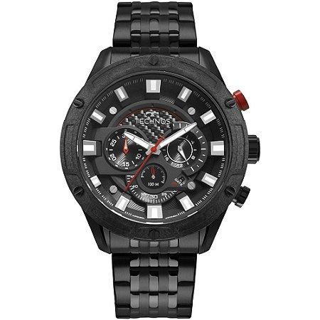 Relógio Technos Masculino Carbon Preto JS25CL4P