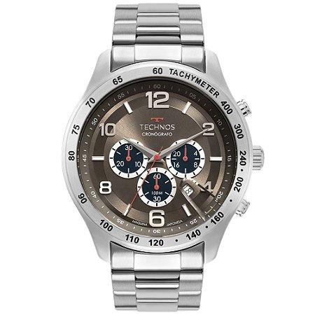 Relógio Technos Masculino Grandtech Prata JS25CG1C
