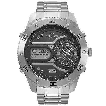Relógio Technos Masculino Legacy Prata 2039CC4P