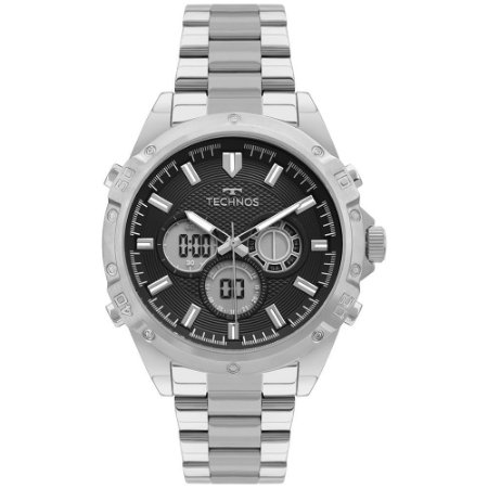 Relógio Technos Masculino Prata BJ3814AA1P