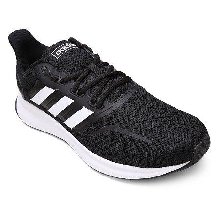 Tênis Adidas Run Falcon Preto/Branco