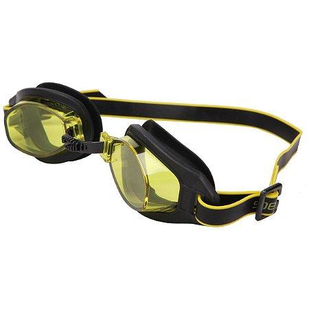 Óculos Natação Speedo Freestyle 3.0 Preto Amarelo