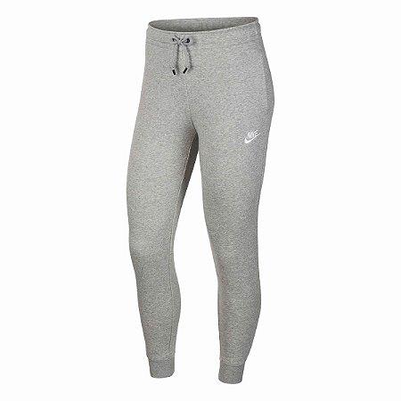 Calça Nike Sportswear Tech Fleece Feminina Cinza