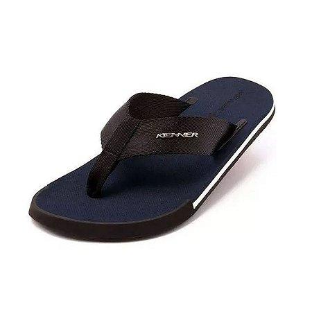 Sandália Kenner Kick.S Line Original Azul Marinho/Preto
