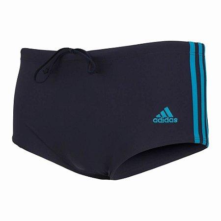 Sunga Adidas Cb3s Wide Azul Marinho/Azul Masculino