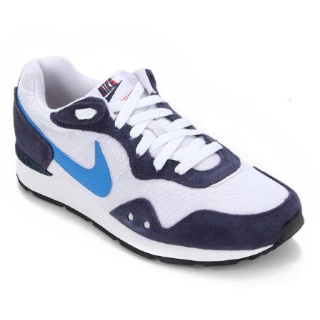 Tenis Nike Venture Runner Branco/Azul Marinho Masculino