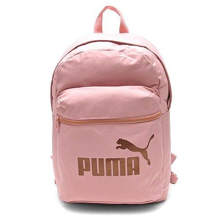 Mochila Puma Core Base College Rosa