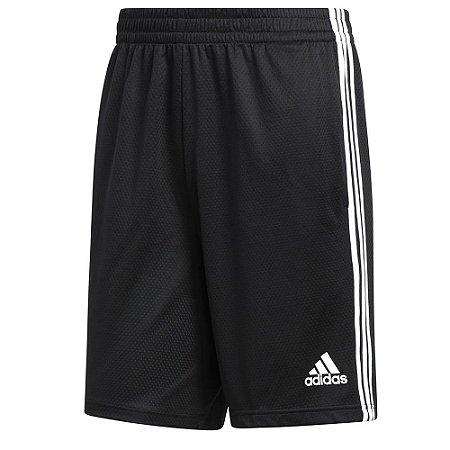 Shorts Adidas 3s Preto Masculino
