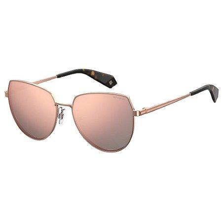 Óculos de Sol Polaroid 6073F/S/X Dourado/Marrom