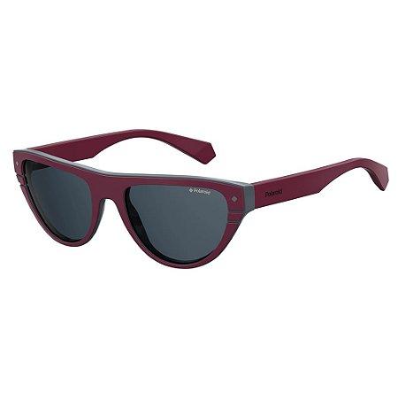 Óculos de Sol Polaroid 6087S/X Roxo/Cinza