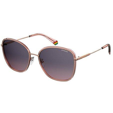 Óculos de Sol Polaroid 6117/G/S Dourado