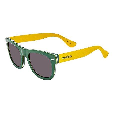 Óculos Havaianas Brasil G Verde/Amarelo