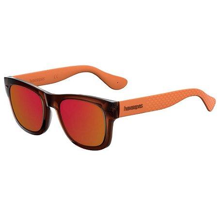 Óculos Havaianas Paraty/M Marrom/Laranja