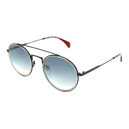 Óculos Tommy Hilfiger 1455/S Preto/Dourado