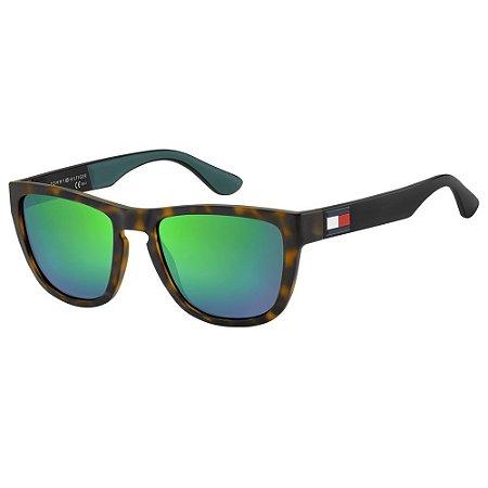 Óculos Tommy Hilfiger 1557/S Marrom/Preto