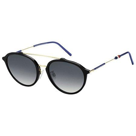 Óculos Tommy Hilfiger 1618/F/S Preto/Azul
