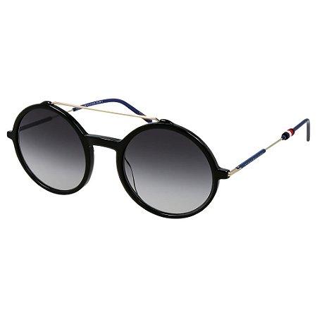 Óculos Tommy Hilfiger 1644/S Preto/Azul