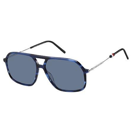 Óculos Tommy Hilfiger 1645/S Azul/Preto