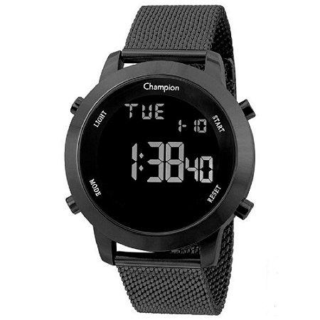 Relógio Champion Feminino Digital Preto CH40062D