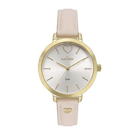 Relógio Condor Feminino Bem Querer Dourado Analógico CO2036MVBK3D
