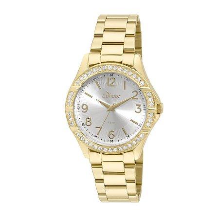 Relógio Condor Feminino Dourado CO2035KUS4K