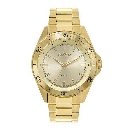 Relógio Condor Masculino Dourado CO2035MTI4X