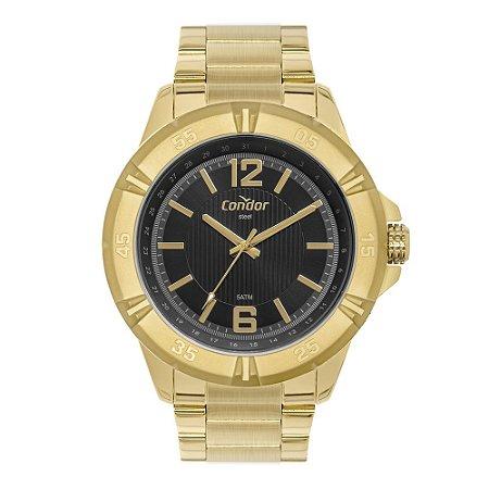 Relógio Condor Masculino Dourado CO2035MUE1P