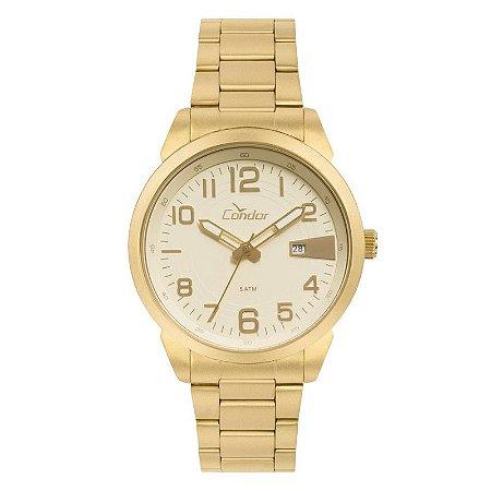 Relógio Condor Masculino Dourado CO2115KTN4D