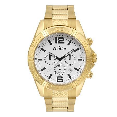 Relógio Condor Masculino Dourado COVD33A34AA4B