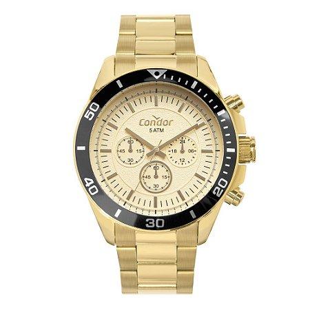 Relógio Condor Masculino Dourado COVD54BH4X