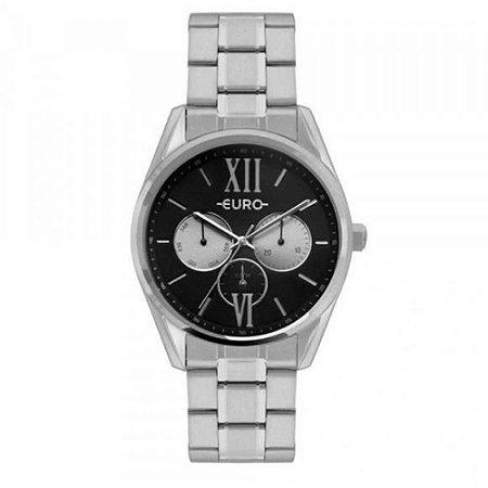 Relógio Euro Feminino  Prata Multifunção EU6P79AC3F