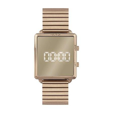 Relógio Euro Feminino Digital Rose EUJHS31BAJ4D