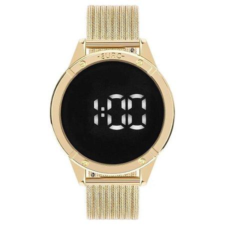 Relógio Euro Feminino Digital Touch Dourado EUBJ3912AA4F