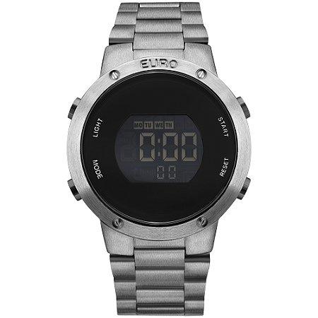 Relógio Euro Feminino Fashion Fit Grafite Digital EUBJ3279AE4K