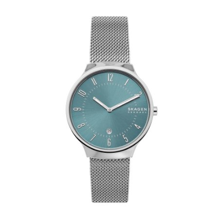 Relógio Skagen Masculino Minimalista Prata Analógico SKW65211KN