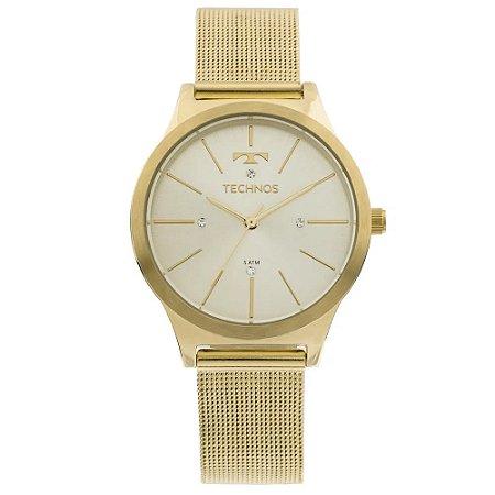Relógio Technos Feminino Classic Dourado Analógico 2039BD4D